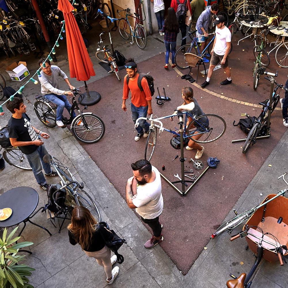 Atelier vélo participatif Toulouse